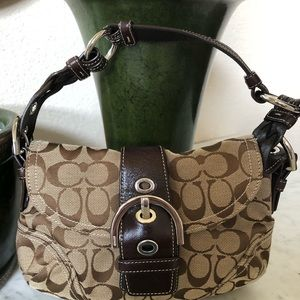 Coach Monogram Hobo-Style Bag